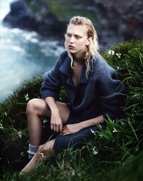 Juliana Schurig by Emma Tempest for Vogue Russia