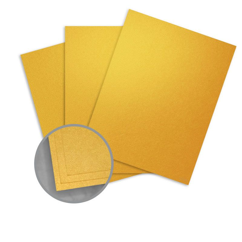 Aspire Petallics Gold Ore Card Stock 8 1 2 X 11 In 98 Lb Cover Metallic C 2s 200 Per Package Gold Paper Leaf Cards Card Stock