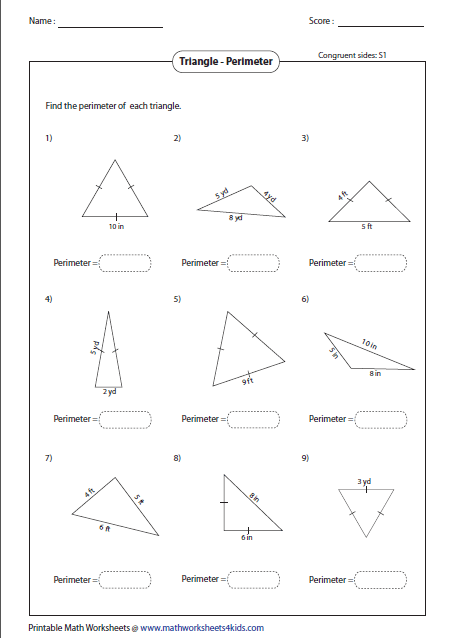 Classifying Triangles by Angle and Side Properties (Marks Included ...