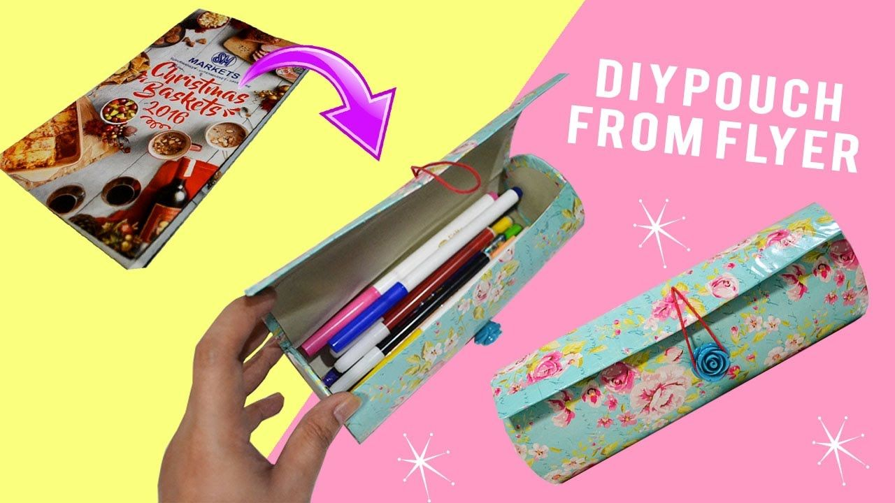 Cool diy pencil cases for going back to school diy