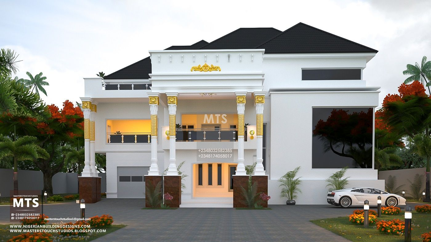 8 Bedroom Beautiful Duplex Rf 8001 Duplex Design Duplex Floor Plans Duplex House Design