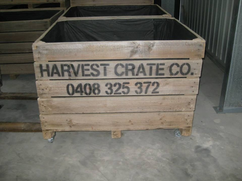 Mobile Harvest Crate $175 Harvest Crate Co. Robe, South Australia