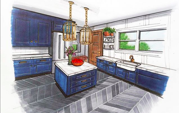 Loving this freehand sketch by #FIDM Interior Design and ... on green building design, house graphic design, house drawing, house layout design, house painting design, house perspective design, house architecture design, house design blueprint, house autocad, house plans with furniture layouts, house green design, house study design, product page design, house light design, house model design, sketchup house design, house studio design, house art design, house template, house construction,