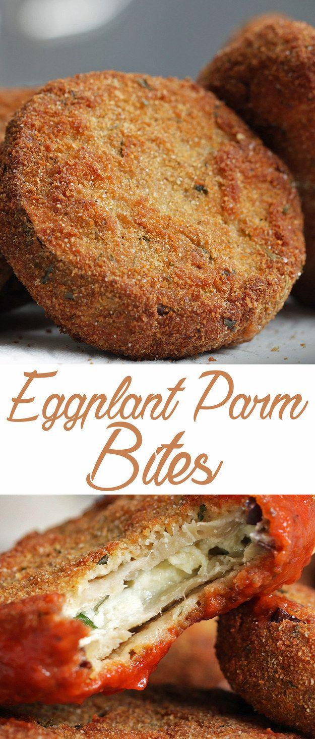Eggplant Parm Bites Recipe Food recipes, Food, Air