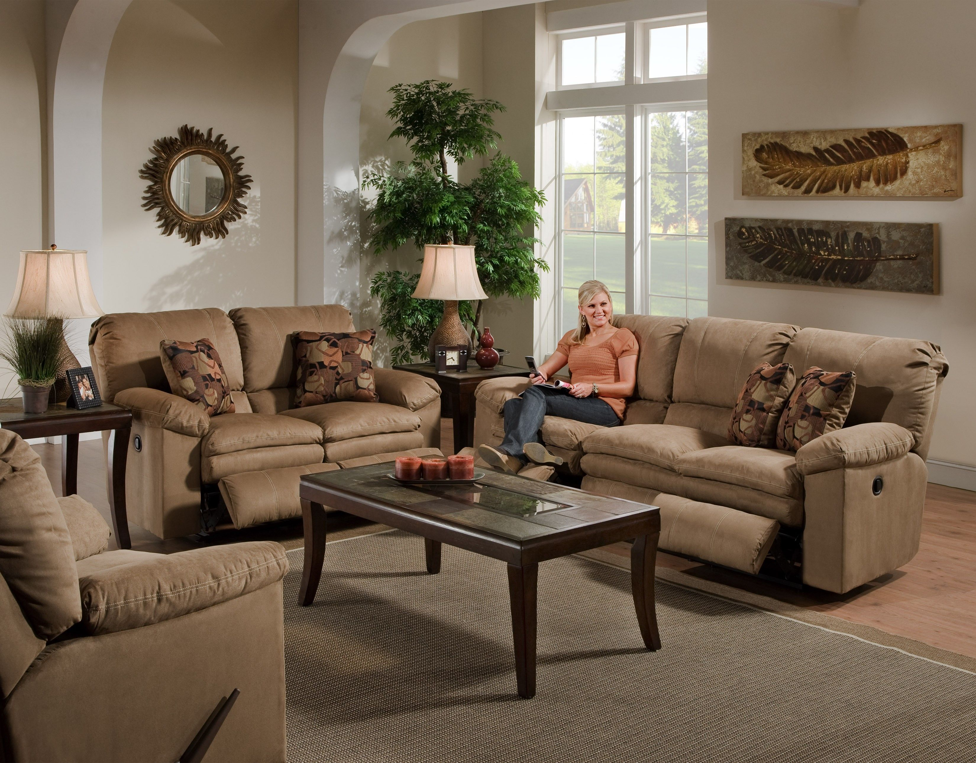 Rent Sofa Country Living Room Furniture Country Cottage Living
