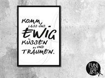 "Typo Poster ""EWIG"" – size M"