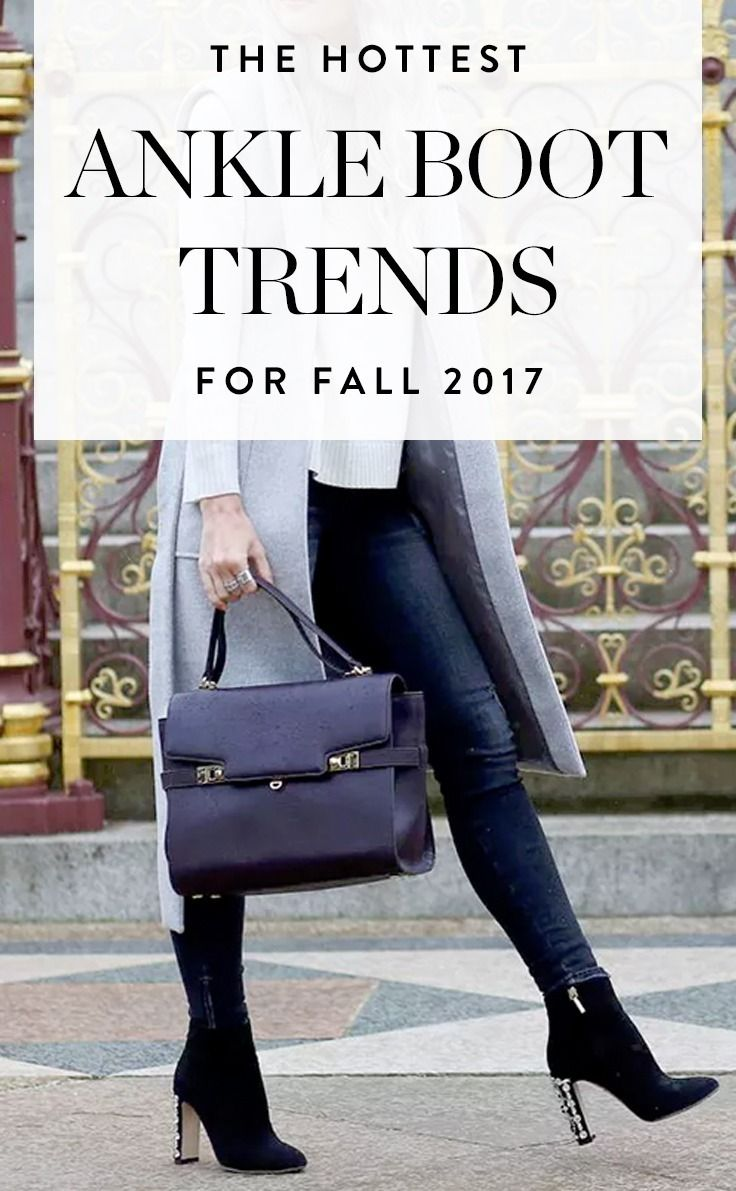 5a3005a32ad Here are five new ankle boots you re bound to see everywhere this fall and  how to wear these trends.