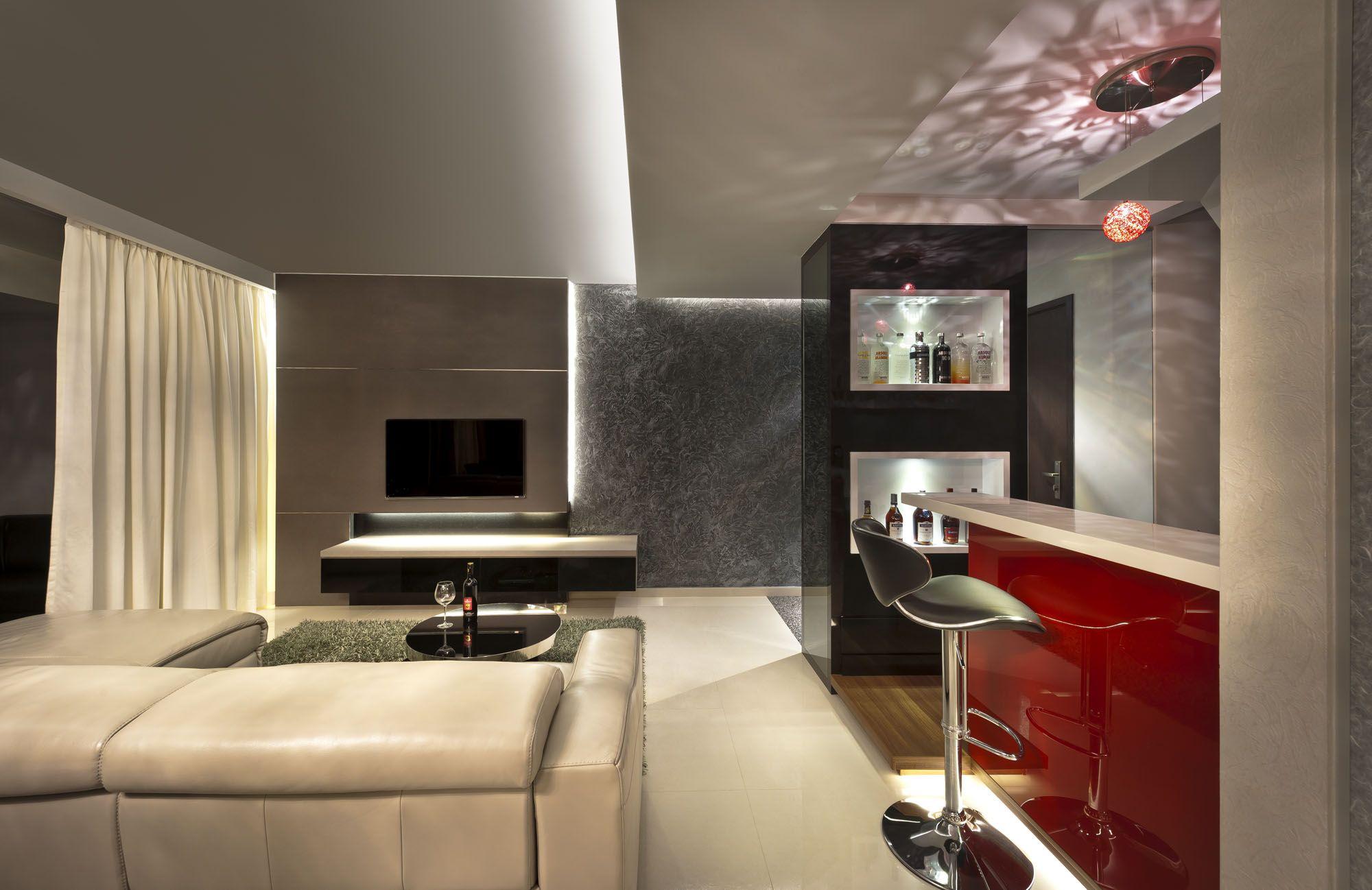 Singapore hdb home design ideas - Hdb 4 Room Blk 333a Anchorvale Link Interior Design Singapore Living Dining Pinterest Singapore Interiors And Room