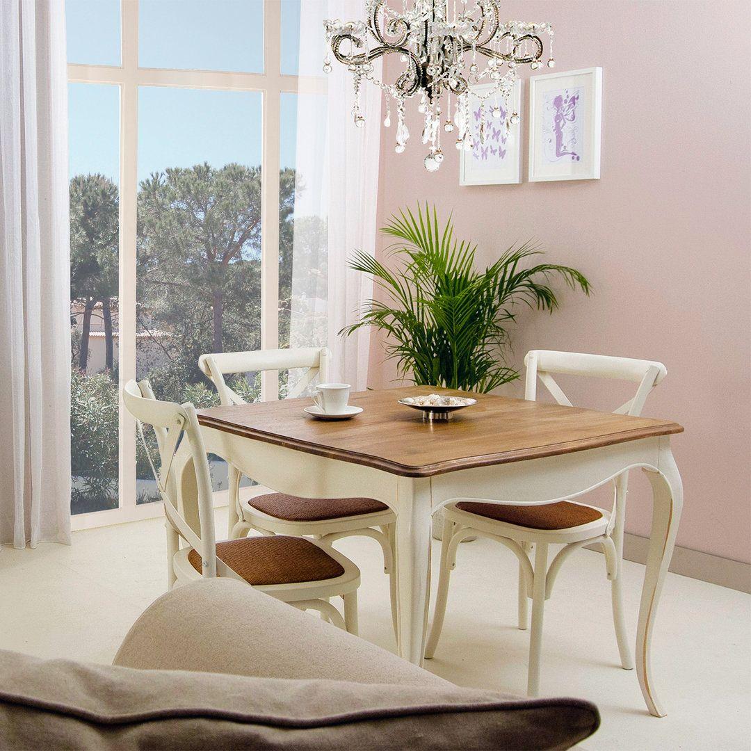 Comedor provenzal paris cruceta con sillas de cruceta muebles servicio pinterest comedores - Decorar el comedor ...