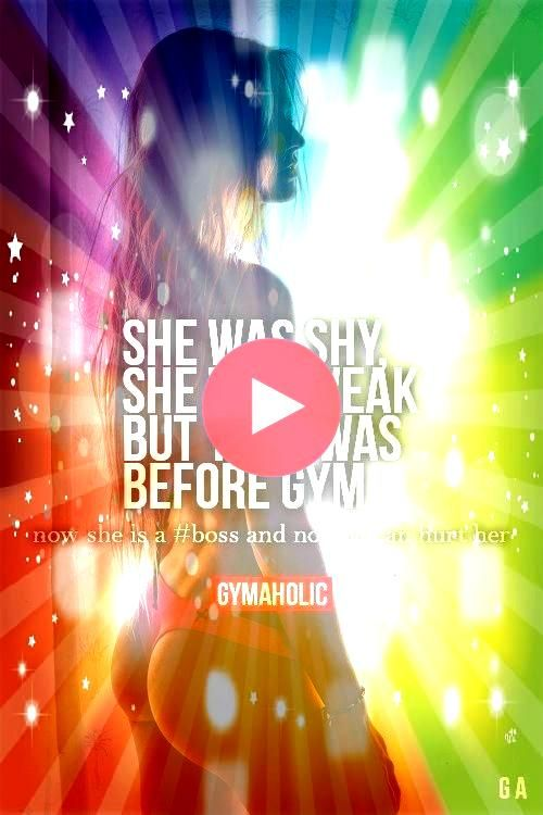 Shy She Was Weak But that was before gym Now she is and no one c  Motivation Girls She Was Shy She Was Weak But that was before gym Now she is and no one c  Motivation Gi...