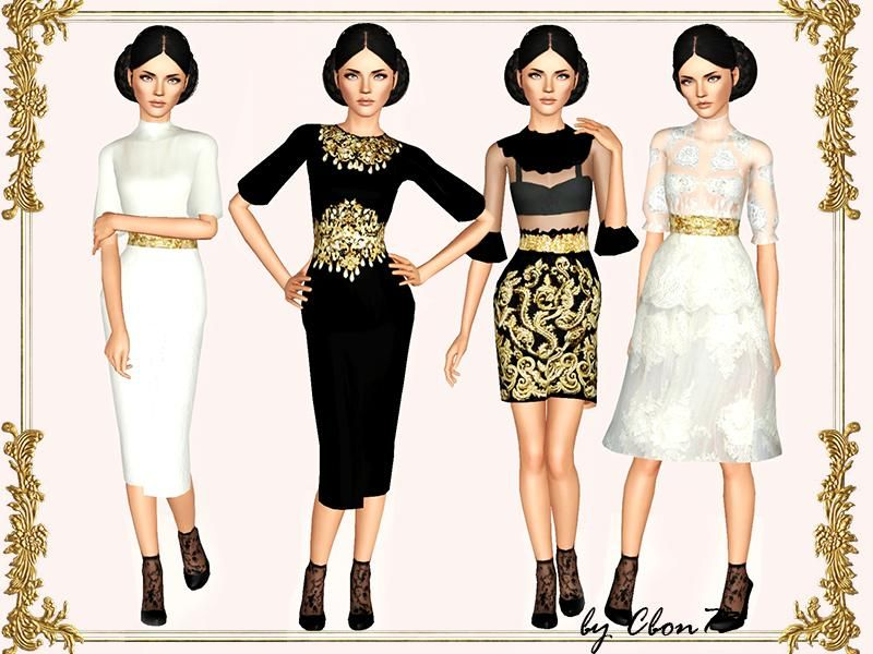 Sims 3 prom dresses tsr usd