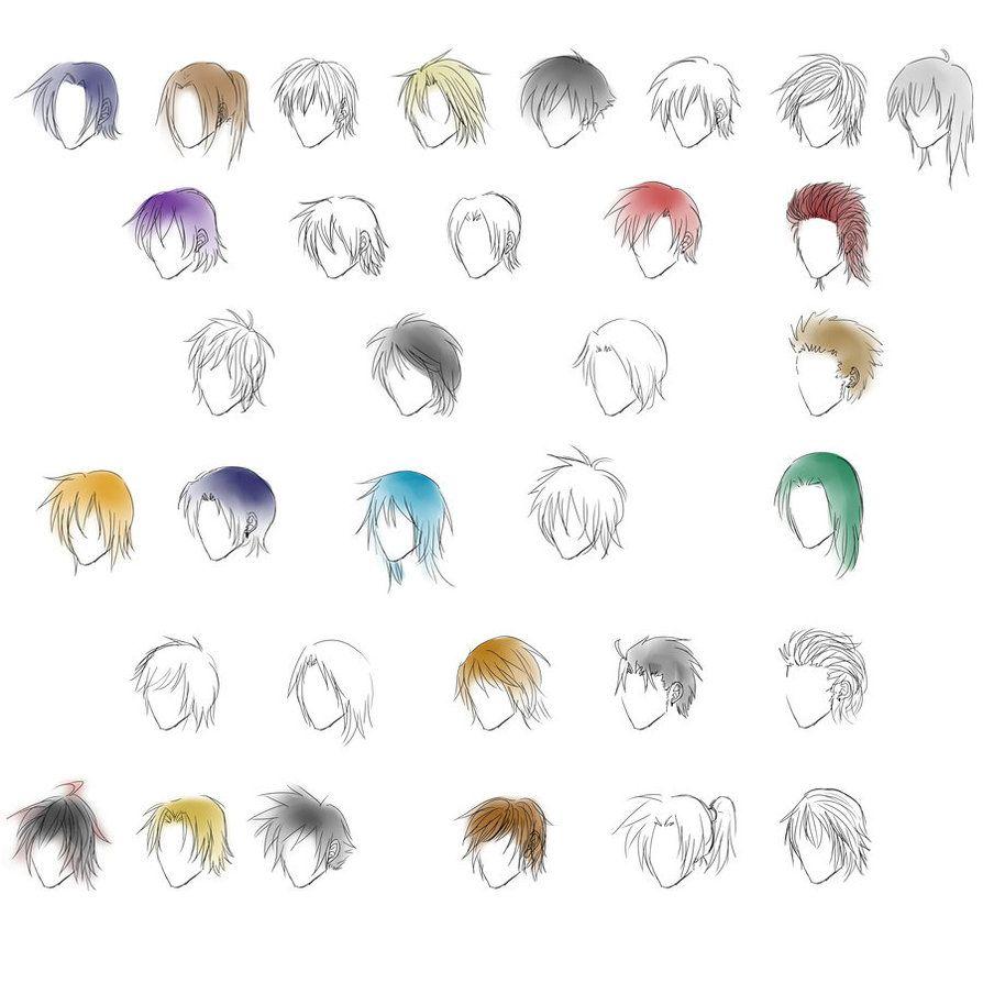 Anime guy hair styles http hairstylee com anime guy hair styles pinterest