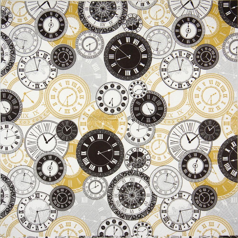 Paper Napkin - Twelve o´clock #papernapkins