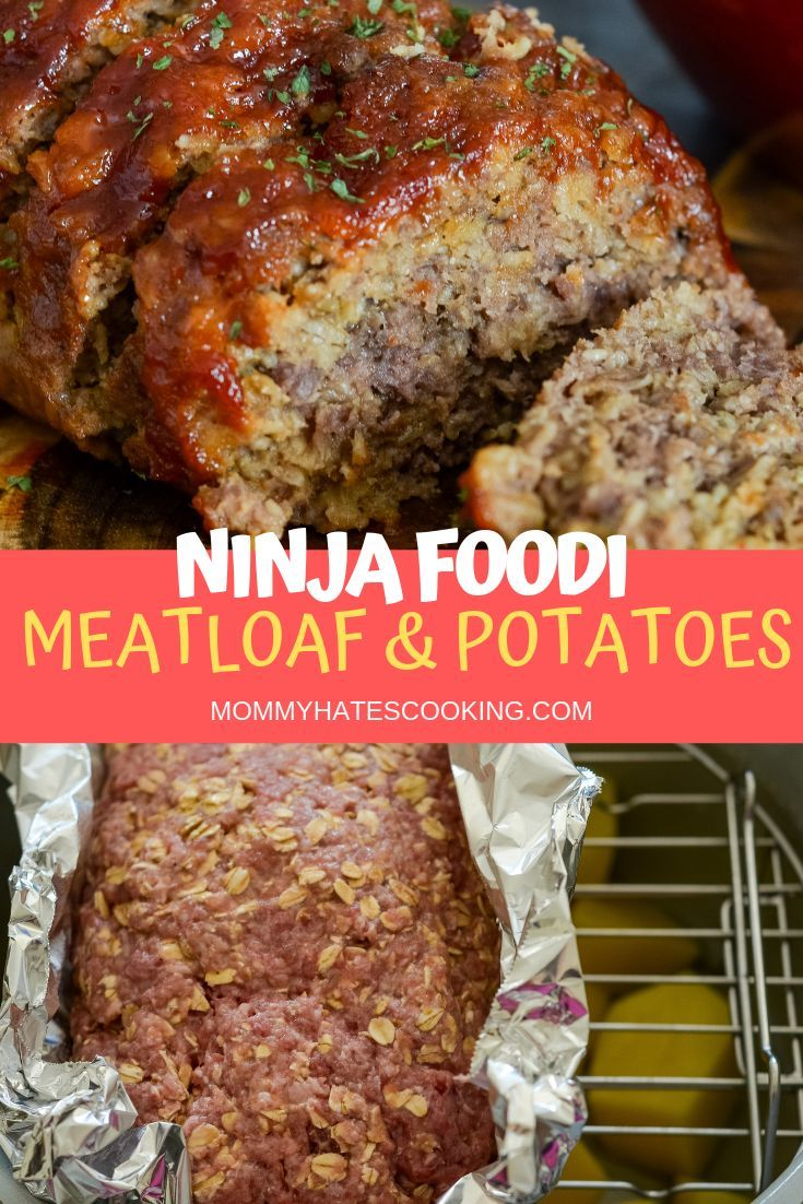 One-Pot Ninja Foodi Meatloaf and Potatoes with Corn.  Make this meal all in an hour in the #NinjaFoodi, plus it's completely #GlutenFree naturally too! #NinjaFoodiRecipes