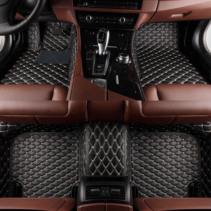 Custom car floor mats for mercedes benz clk w208 w209 c209