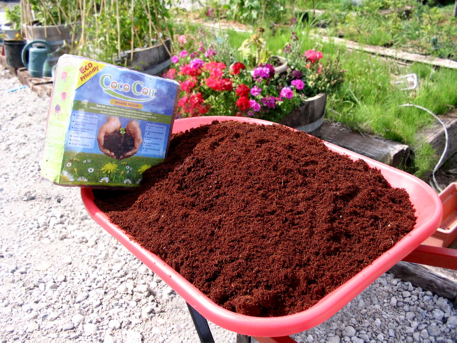 Coconut coir is a renewable resource that is, for that