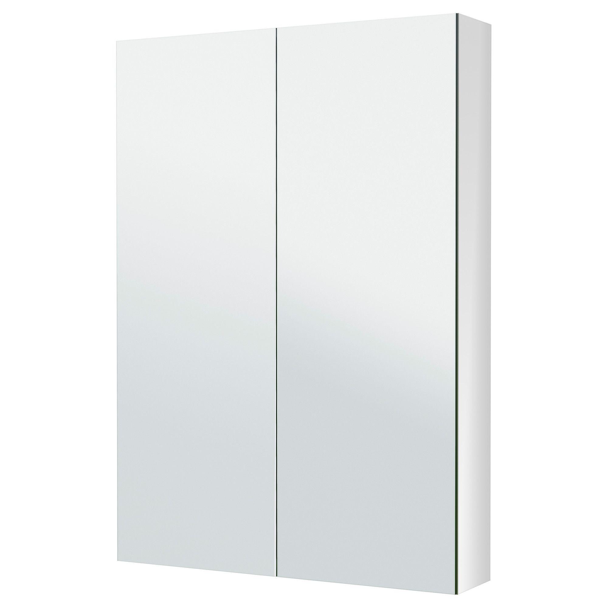 Godmorgon Mirror Cabinet With 2 Doors 23 5 8x5 1 2x37 3 4 Mit Bildern Ikea Godmorgon Spiegelschrank Schrank 30 Cm Tief