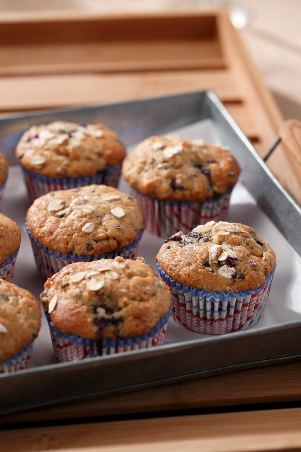 Blueberry oatmeal lentil muffins recipe tasty dishes