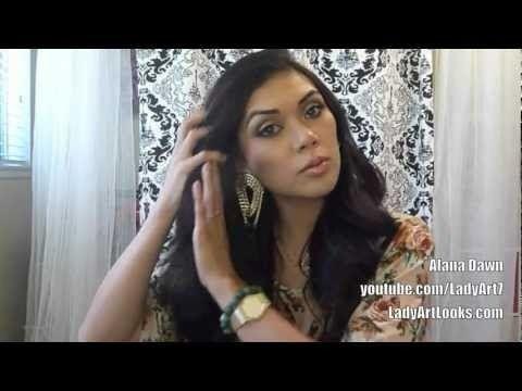 Kim Kardashian Wavy Hair