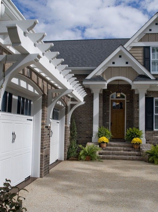 Arbor Over Garage Design, Pictures, Remodel, Decor and ...