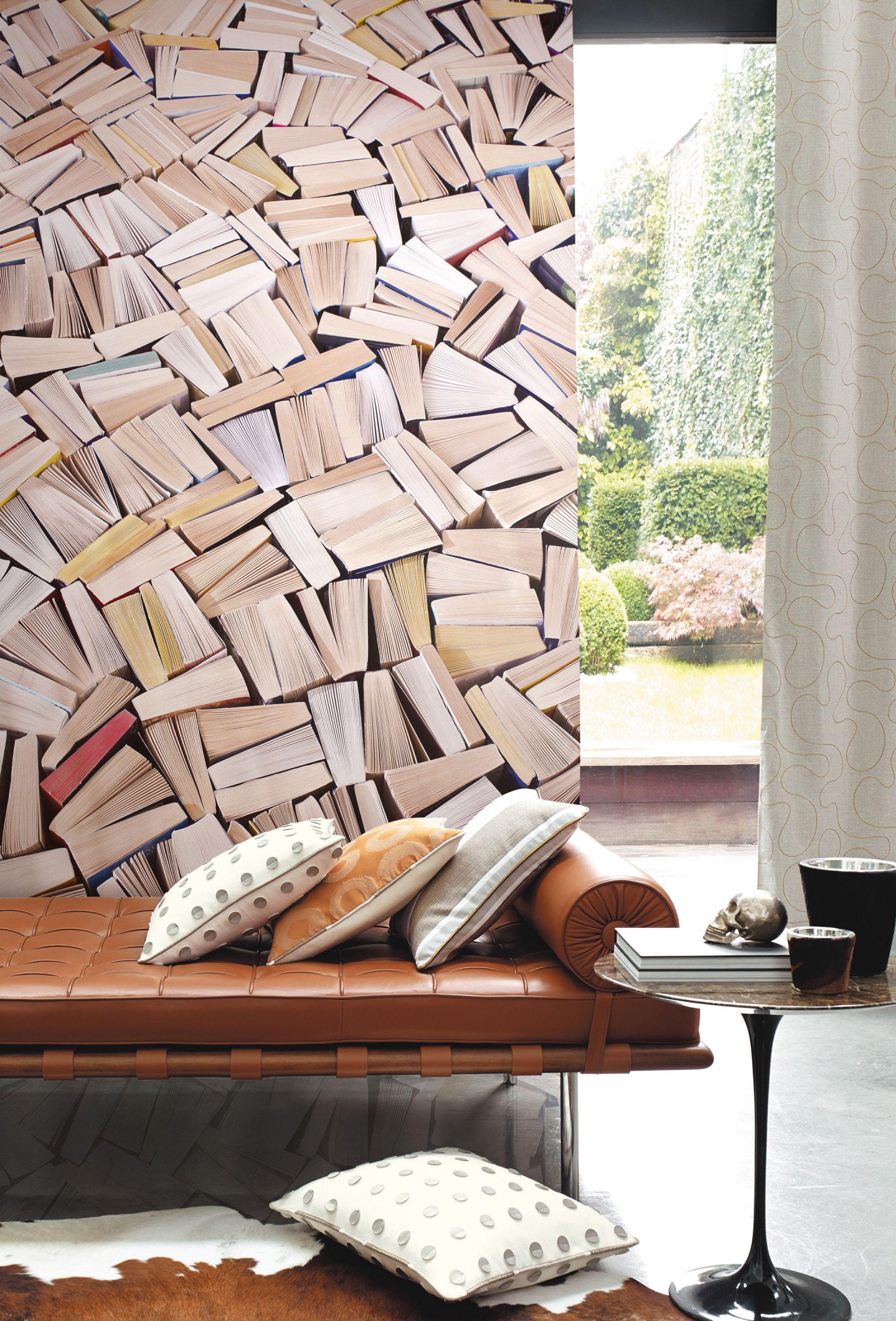 papier peint livres latest papier peint livres papier peint trompe loeil livres papier peint. Black Bedroom Furniture Sets. Home Design Ideas