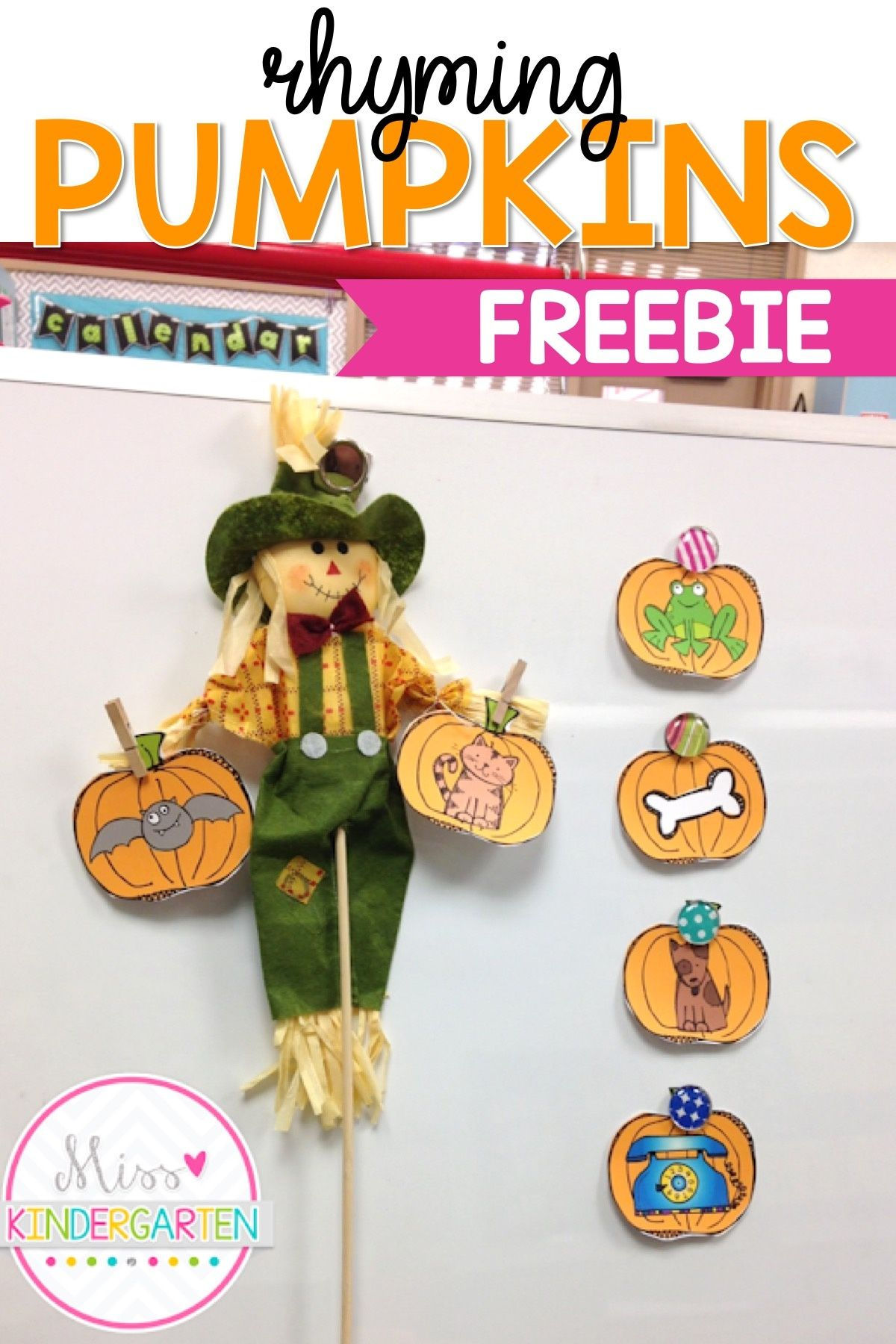 These Hands On Rhyming Activities For Preschool And