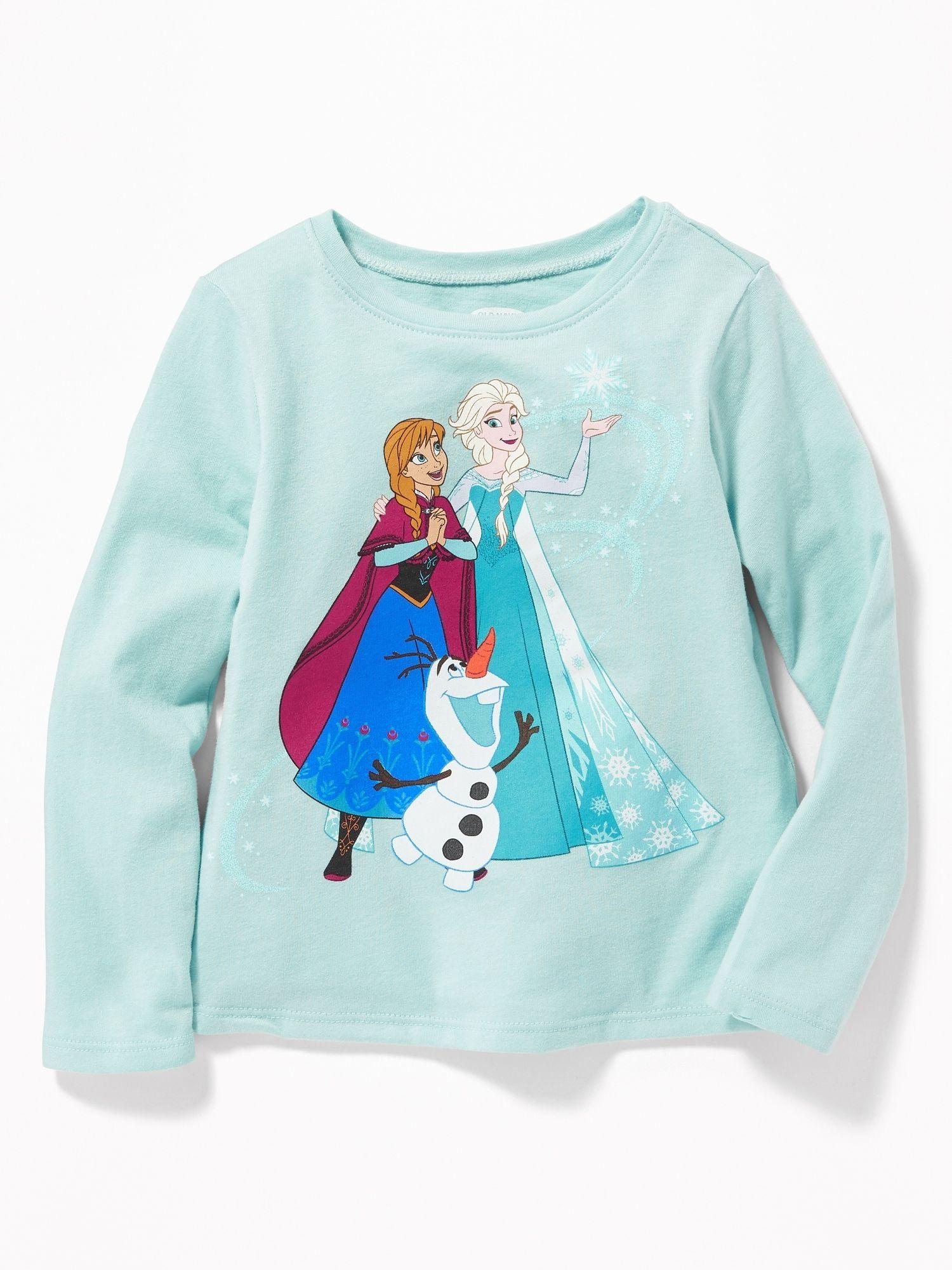 Disney C Frozen Graphic Tee For Toddler Girls Old Navy Old Navy Old Navy Girls Shop Old Navy [ 2000 x 1500 Pixel ]
