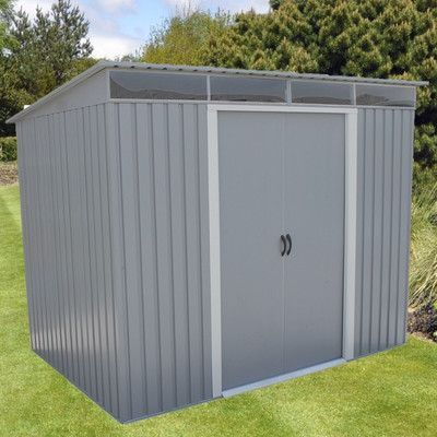 Duramax Building Products 8.6 Ft. W x 6 Ft. D Metal Lean-To Shed