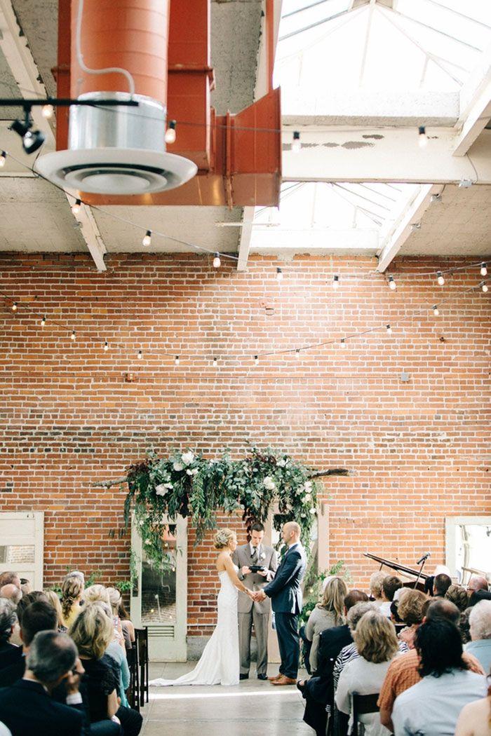 Sacramento Industrial Chic Wedding Decor Ideas19 Wedding