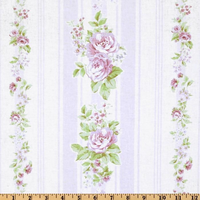 Super Treasures By Shabby Chic Garden Rose Vine Stripe White Home Interior And Landscaping Synyenasavecom