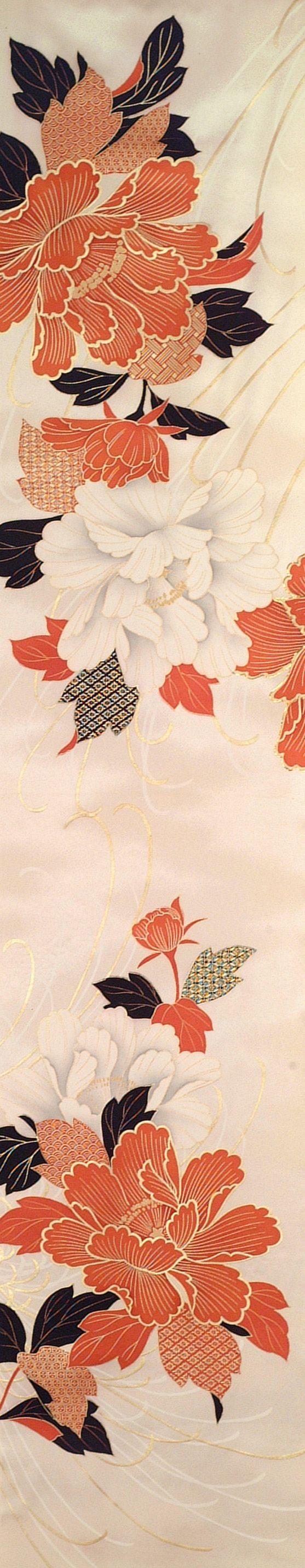 detail vintage kimono