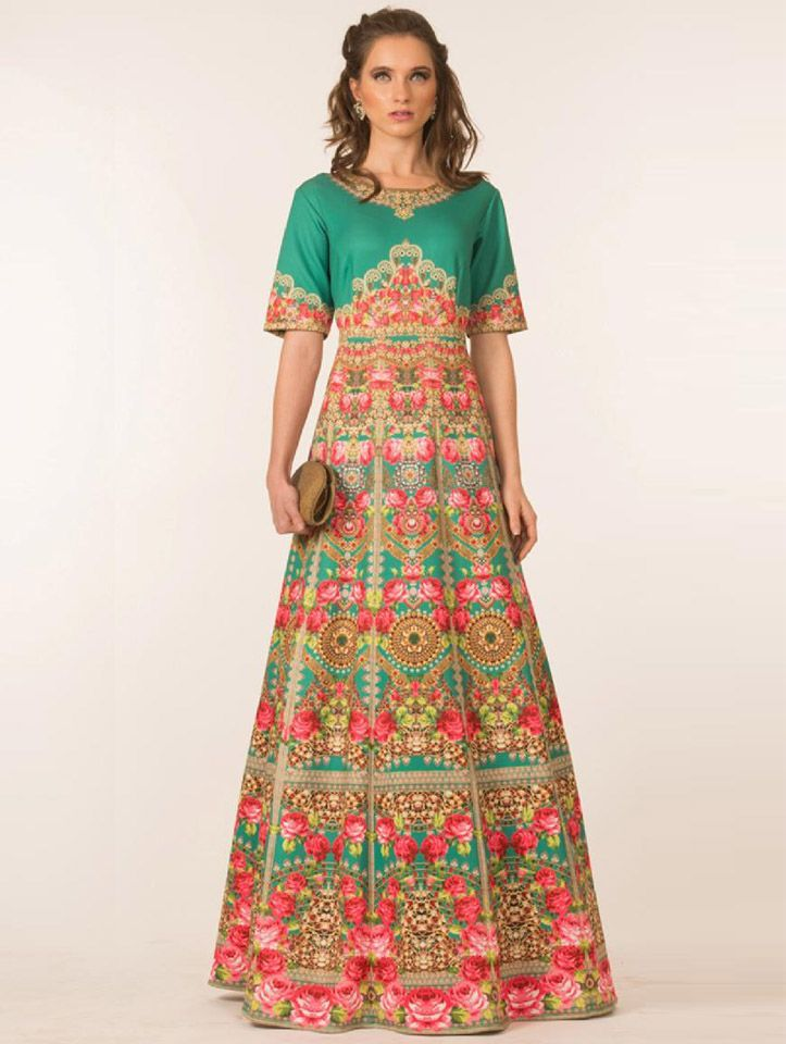 44df498e5c1a66 Regal Multi-coloured One-piece Lehenga by Delhi Designer Preeti S Kapoor.  View entire collection.
