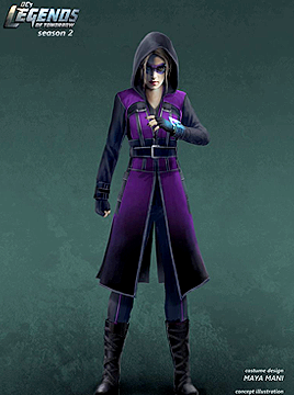 Felicity concept for Legends of Tomorrow