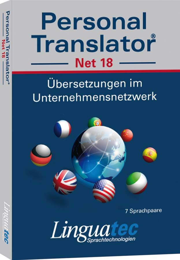 Seit nun mehr 18 Jahrenhat sich Linguatec in Deutschland als Marktführer für hochwertigeÜbersetzungssoftware etabliert. Die neue Version, Personal TranslatorProfessional 18 ist kompatibel mi...