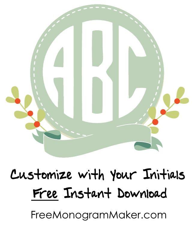 free online monogram generator