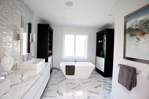 Modern Bathroom White Itlian Design, Pictures, Remodel, Decor and