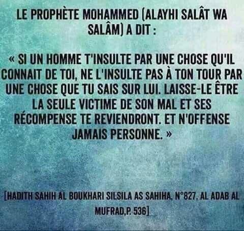 Hadith Rappel Islam Hadith En Francais Et Islam Priere