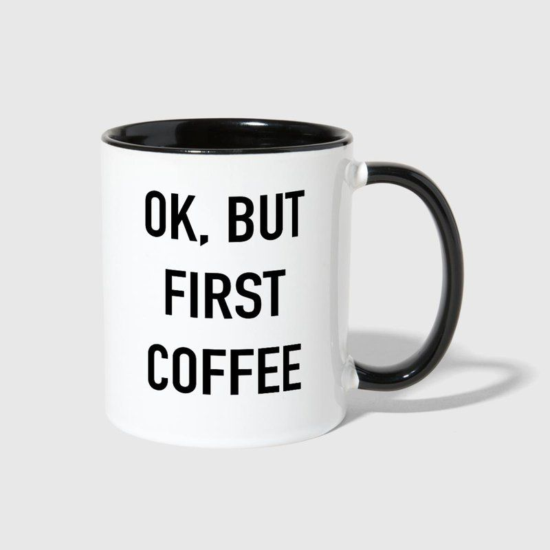 Mug First But In Blue Coffee Contrast Ok Whitecobalt 2019 lF1JTKc3