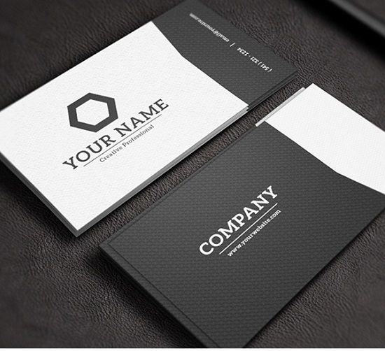 list of clean and minimal business card designs