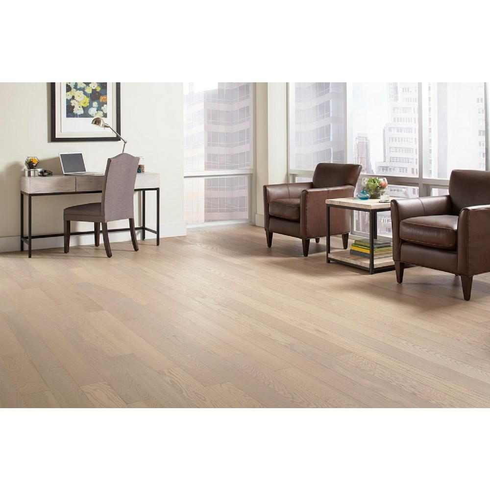 Home Legend Wire Brushed Oak Frost 3/8 in. Thick x 5 in. Wide x ...