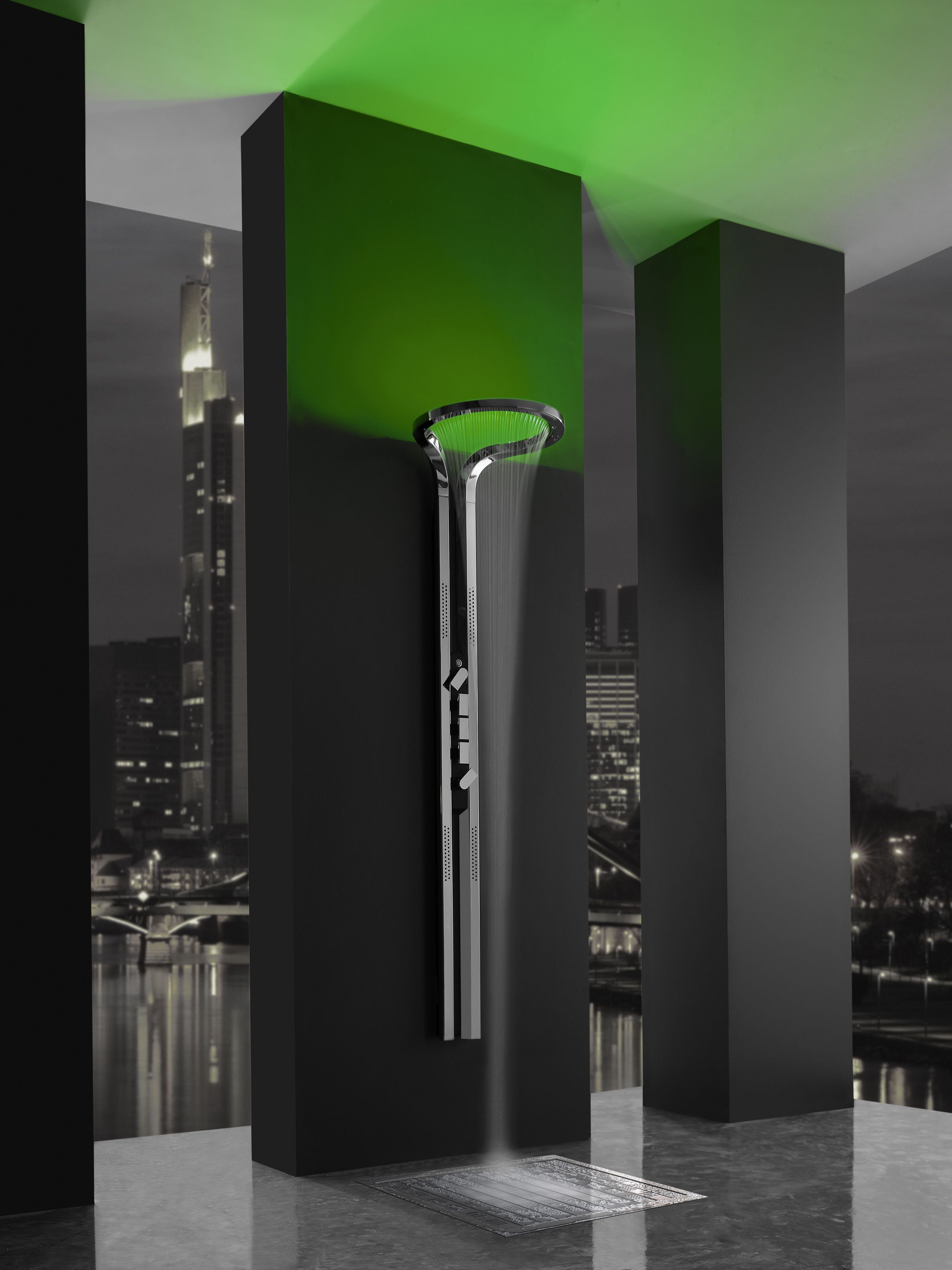 Graff #Bathroom #Shower with mood lighting and music - take your ...