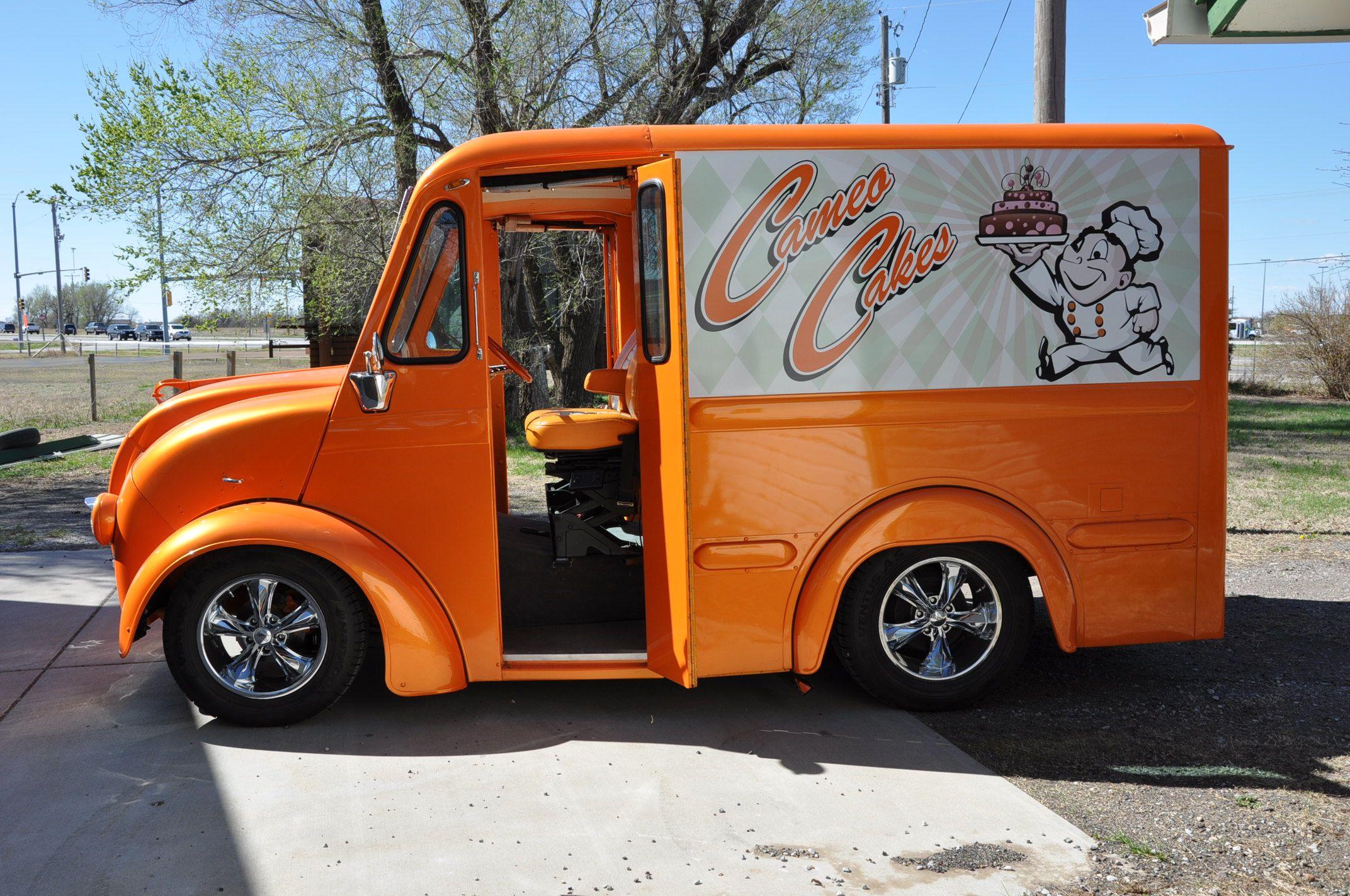 1962 Divco Custom Milk Truck Vintage Trucks Mini Trucks Trucks