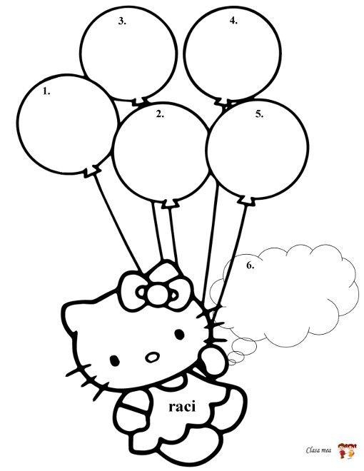 Călătorie In țara Literelor Cuvantul Raci Hello Kitty Coloring Kitty Coloring Heart Coloring Pages
