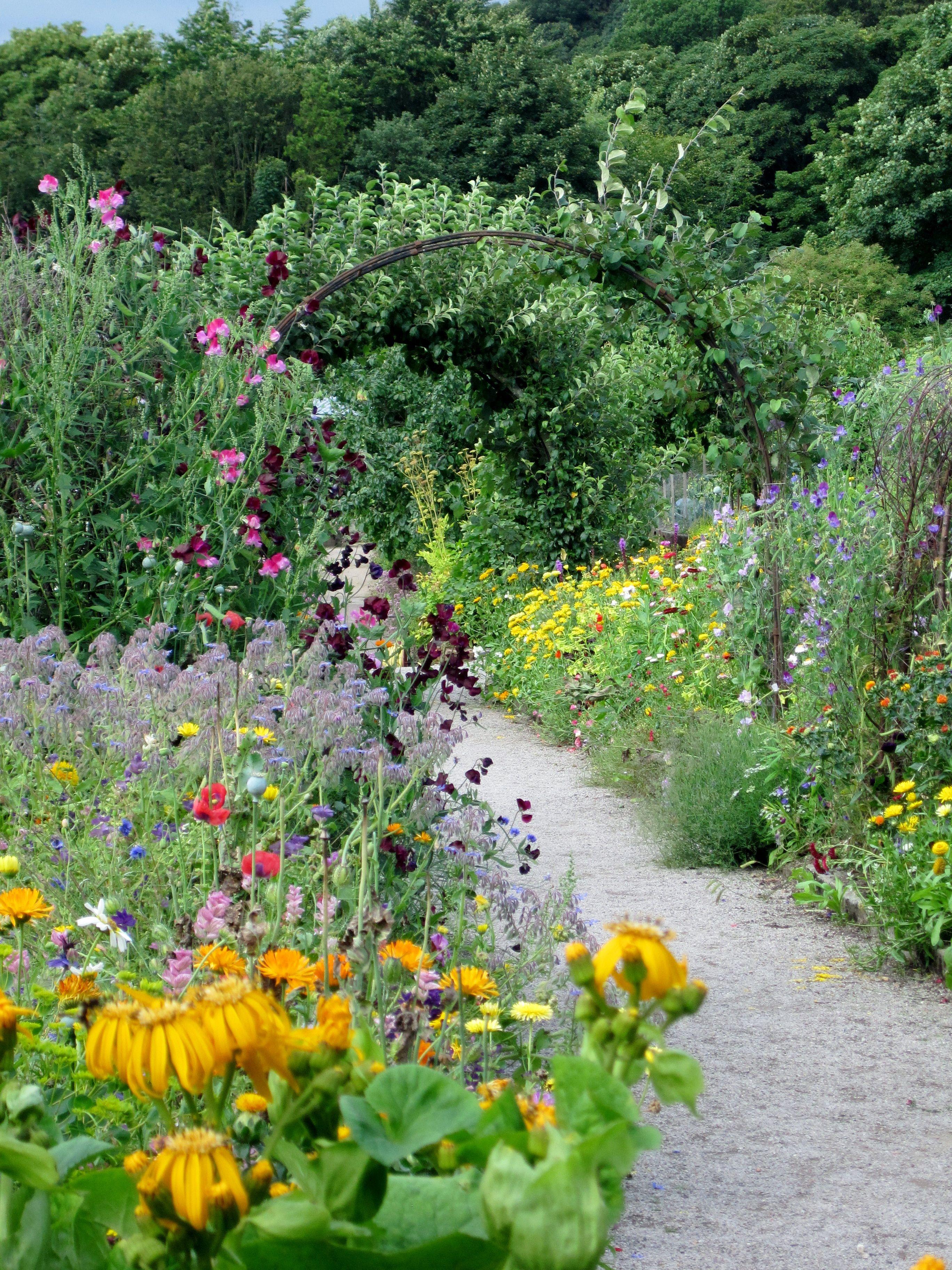 Chatsworth Hall Kitchen Garden | Garden Dreams | Pinterest | Diseños ...