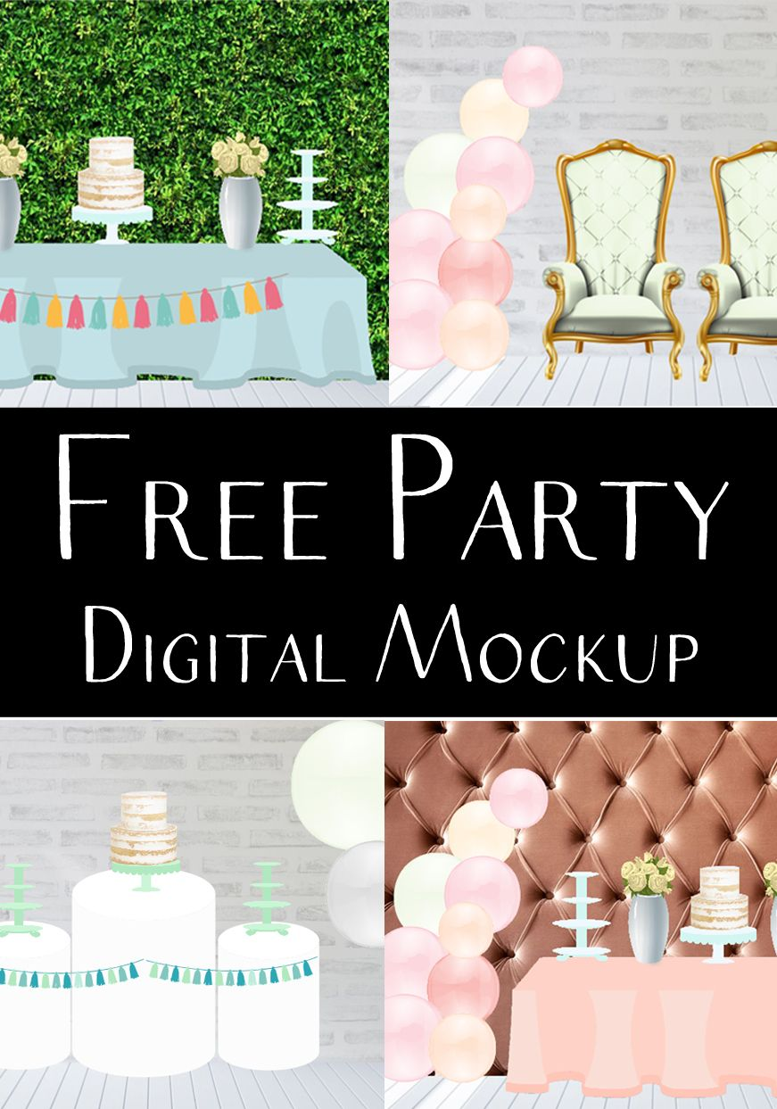 Free Digital Mockup for Event Planners in 2020 Therapy