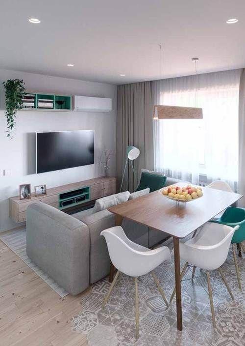12 Decoracion sala pequena apartamento