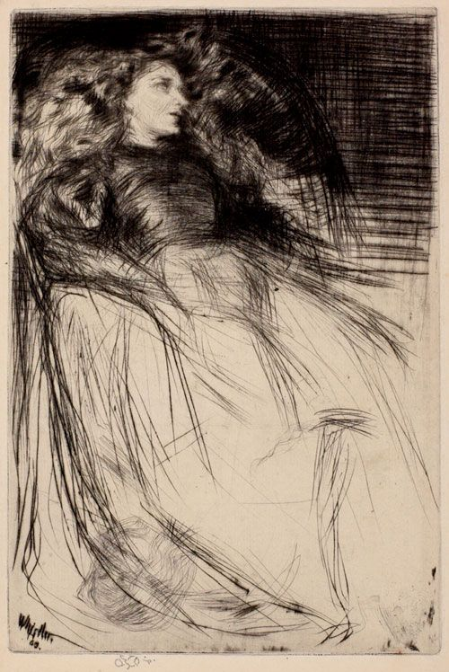 James Abbot McNeil Whistler: Weary