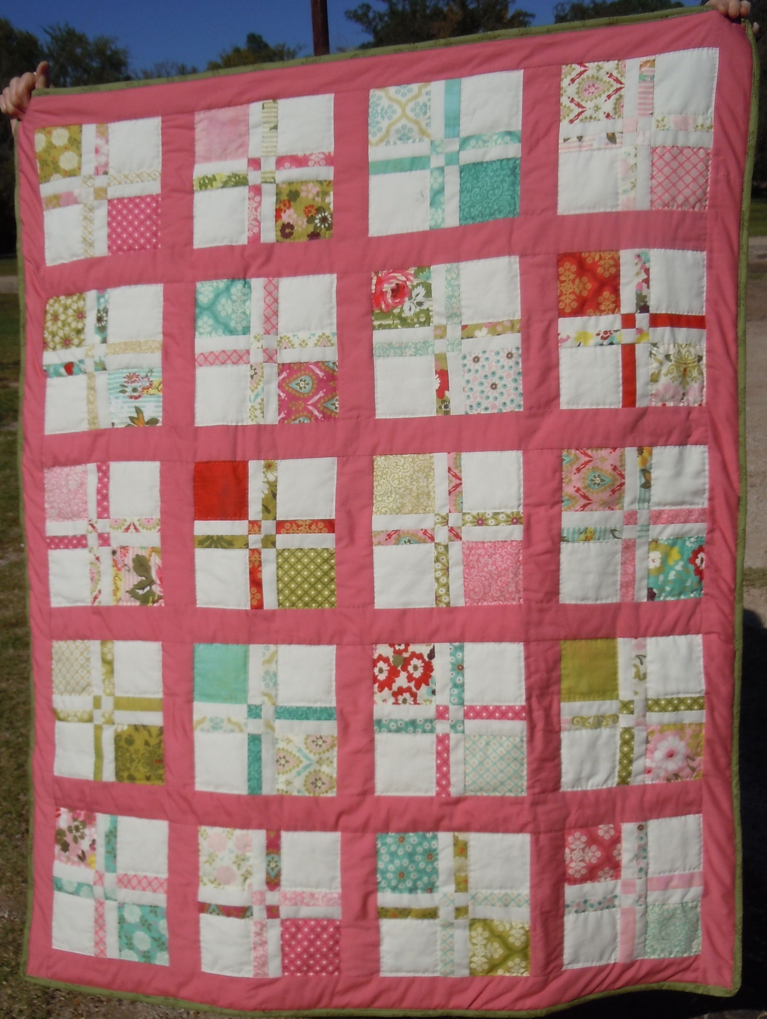Lap Quilt I made for the Family Reunion | quilts completed ... : family quilts - Adamdwight.com