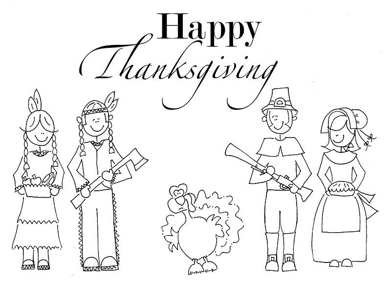 Free Printable Thanksgiving Coloring Pages For Kids ...