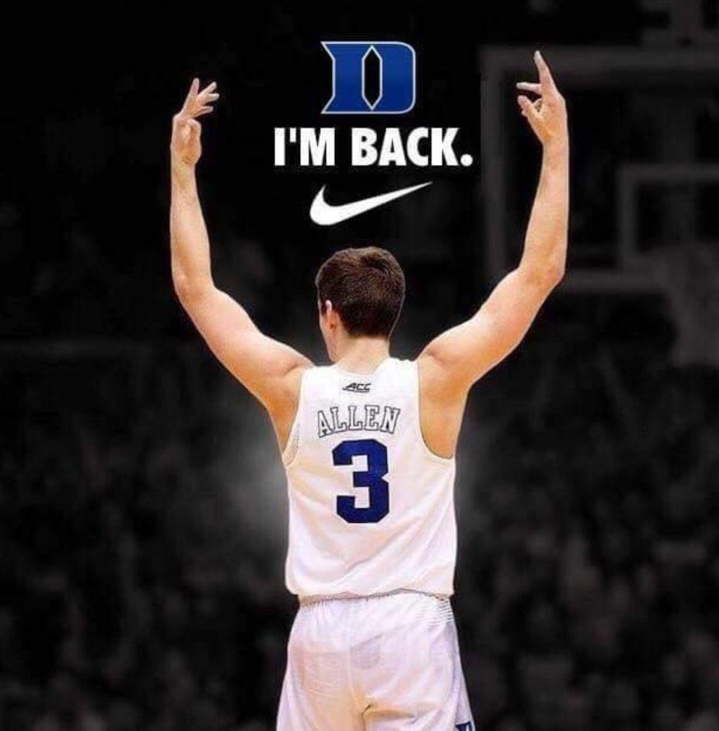 Always Be Yourself Grayson Allen Durham  Basketball T Shirt